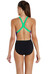 speedo Endurance+ LaCoca Placement Digital - Maillot de bain Femme - noir/Multicolore